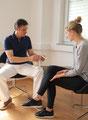 Persönliche Beratung und Behandlungsvorbereitung