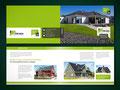 Grundlayout/Musterlayout als Vorlage zur freien Weiterverwendung, Beispiel Doppelseiten - THM Bau GmbH