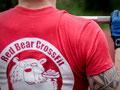 Unser entworfenes Maskottchen als Shirt-Aufdruck - Red Bear Crossfit aus Bremen