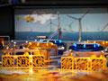 Gestaltung der Spielfläche für den Flipper im Klimahaus Bremerhaven
