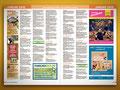 ruhrpottKIDS - Layout des mehrseitigen Veranstaltungskalenders (mit wechselnden Inhalten pro Stadtausgabe)