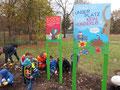 """Plakat-Illustrationen für die Aktion """"Blumen gegen Müll"""" vom Umweltbetrieb Bremen"""