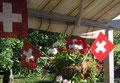 1. August - Schweizer National-Feiertag - im Chirsgarten