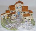 Village N°07 (pour santons puce environ) - 48 €