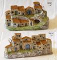 Village de fond N°04 recto verso (taille réduite) - 35€