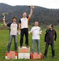 Staufen Cup 2010: Overall (vl: Martin Brunn, Marc Wensauer, Pepe Malecki, Thomas Brandlehner)