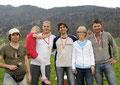 Staufen Cup 2010: Vorarlberger Landesmeisterschaft (vl: Martin Kispert, Sarah u. Werner Jäger, Martin Brunn, Ltabg. Theresia Fröwis, Christian Tamegger)