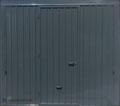 Porta basculante Ral 7016