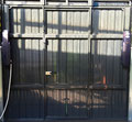 Porta basculante Ral 7016 interno