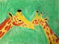 Girafe de Clément, 8 ans, pastel