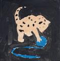 Chat de Nawfel, 6 ans et demi (acrylique)