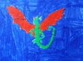 Dragon de Clément, 6 ans et demi