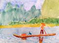 aquarelle de Niels (12 ans et demi)