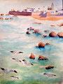 """Essaouira"", Marine, 17 ans (aquarelle sur papier)"