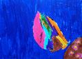 Papillon, feutres de Nawfel, 6 ans et demi