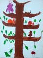acrylique sur toile de Aaron (7 ans)