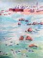 Essaouira, Emma, 16 ans (aquarelle sur papier)