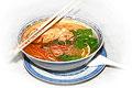 Pho Ga à la Hanoi - Reisbandnudeln mit Hühnerfleisch und Kräutergemüse