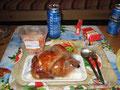letzte Mahlzeit in Irkutsk
