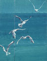 2008 Vögel1 63+29x120cm