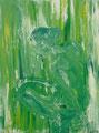 2007 Frau grün 1 100 x 120cm