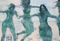2015 Damen am Strand 3 107x73cm-verkauft-