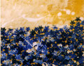 1997 blaue Blumen 70x55cm