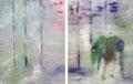 2012 Lichtung 2x100x128cm  3300,-€  (bei mir im Atelier)