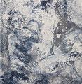 2010 Frau blau 100x102cm