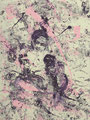 2007 Frau rosa-lila3 90x120cm