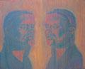 2002 Spiegel 69x57cm