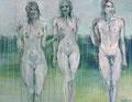 2012 Damen am Strand3 128x100cm -verkauft-