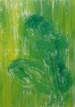 2007 Frau grün2 90x120cm