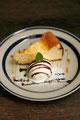 ベイクドチーズケーキ ¥550