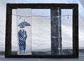 rain  21×28×8.5 cm