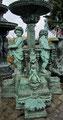 Brunnen für den Garten aus Bronze - Yin & Yang Asiatika - Klaus Dellefant - Olching