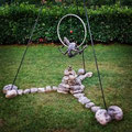 Mother heart - Size (cm): 250x170x170 - metal sculpture - (NOT AVAILABLE)