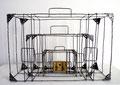 My journey - Size (cm): 60x40x20 - metal artwork steel sculpture