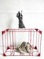 Our weights- Size (cm): 60x65x20 - metal artwork steel sculpture