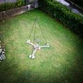 Mother heart - Size (cm): 250x170x170 - metal artwork steel sculpture - (NOT AVAILABLE)