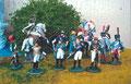 Napoleon mit seinem Stab