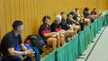 Die lange Reihe der Teilnehmer
