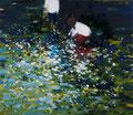Los secretos del agua, 140x160 cm, 2015, Öl auf Leinwand