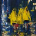 Tropical Trio, 45x45 cm, 2013, Öl auf Leinwand