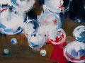 Big bubbles_01, 30x40 cm, 2015, Öl auf Leinwand