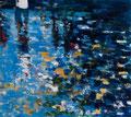 Flood, 150x170 cm, 2014, Öl auf Leinwand