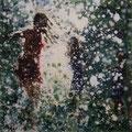 Splash 02, 60x60 cm, 2016, Öl auf Leinwand