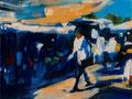 Un dia fantastico, 30x40 cm, 2012, Öl auf Leinwand