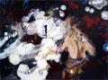 Lightgames, 30x40 cm,2008, Öl auf Leinwand