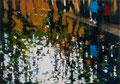 Shadow Plaza, 140x200 cm, 2016, Öl auf Leinwand